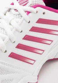 K-SWISS - BIGSHOT LIGHT 3 - Multicourt tennis shoes - white/cactus flower - 5