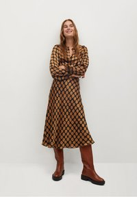 Mango - SABI - A-line skirt - karamell - 1