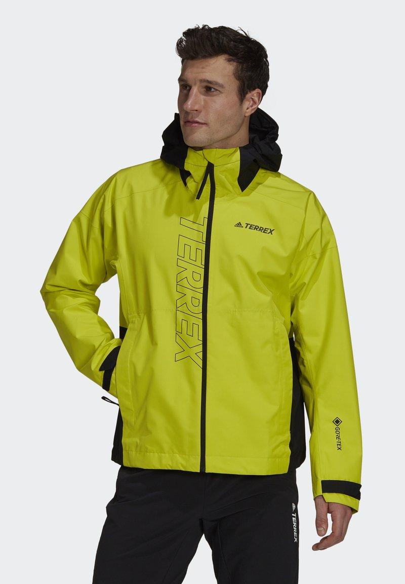 adidas Performance - TERREX GORE-TEX PACLITE RAIN - Hardshell jacket - black