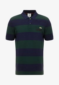 Lacoste LIVE - Polo - sinople/navy blue - 3