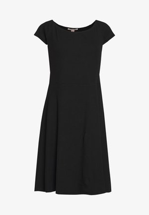 BASIC - Mini dress - Jersey dress - black