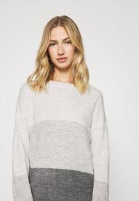JDY - JDYELANORA STRIPE - Pullover - dark grey - 3