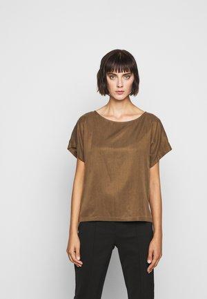 SOMIA - Basic T-shirt - braun