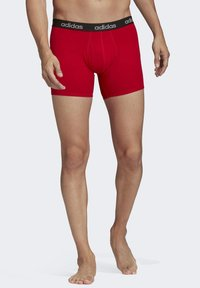 adidas Performance - BRIEFS 3 PAIRS - Pants - red - 2