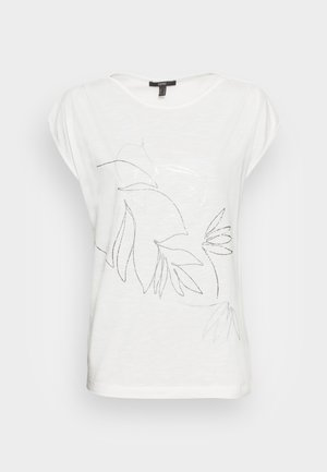 LINE - Print T-shirt - white