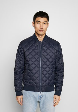 GABBLE QUILT - Light jacket - navy