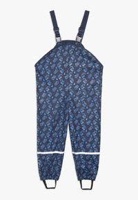 Playshoes - BAUSTELLE ALLOVER - Pantalones impermeables - marine - 1