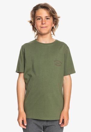 WILD CARD - Print T-shirt - four leaf clover