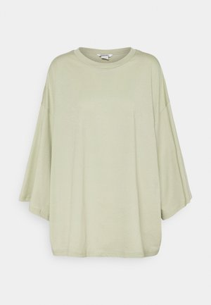 BILLA TEE - Basic T-shirt - green dusty light