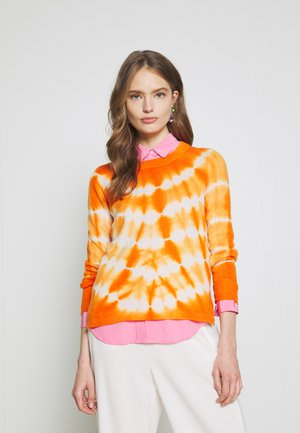 CASH TIE DYE LAYLA - Maglione - snow/light pumpkin