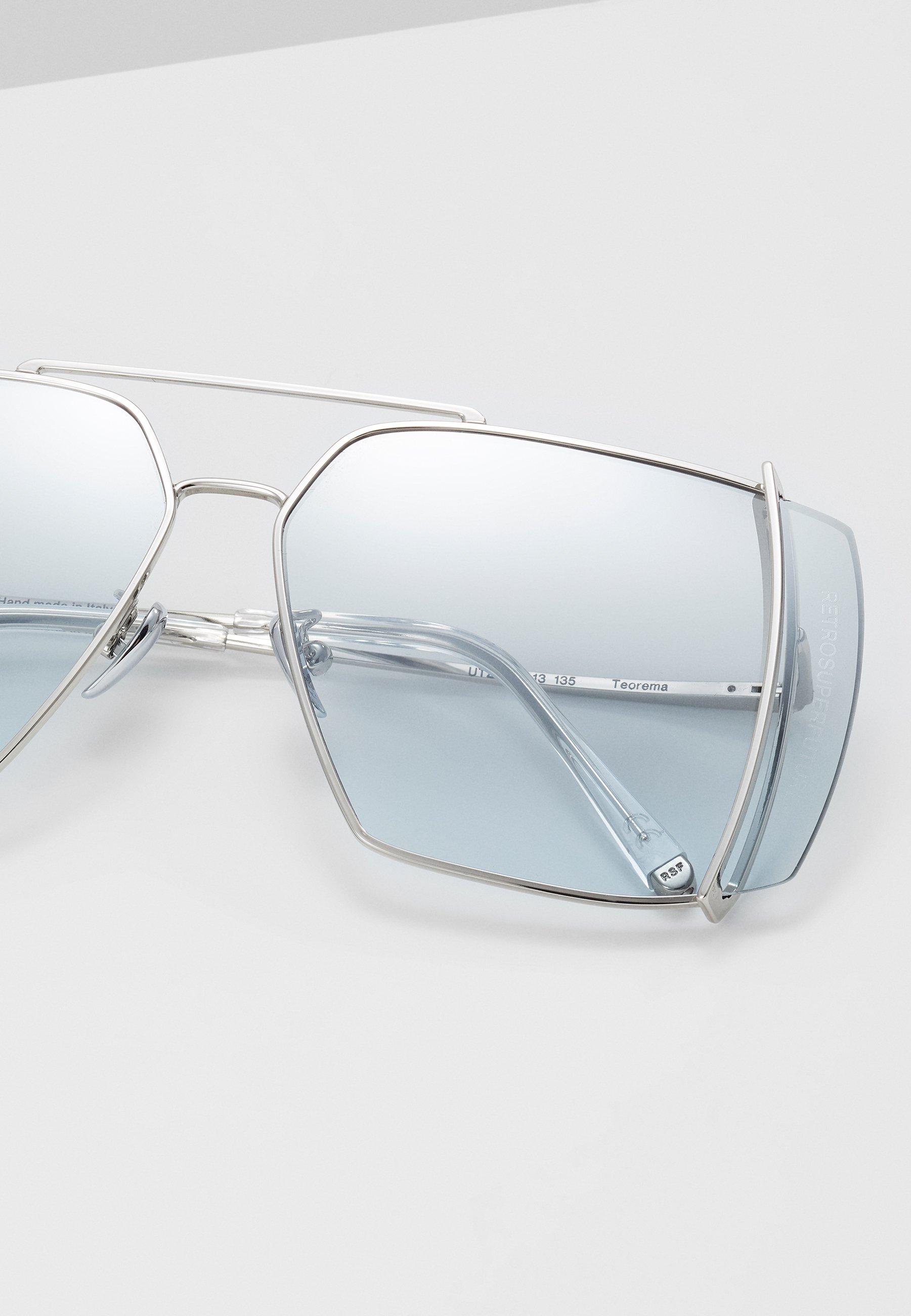 RETROSUPERFUTURE TEOREMA OMBRE - Sonnenbrille - silver-coloured/silber - Herrenaccessoires cJHLJ