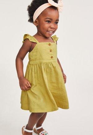 Korte jurk - light green