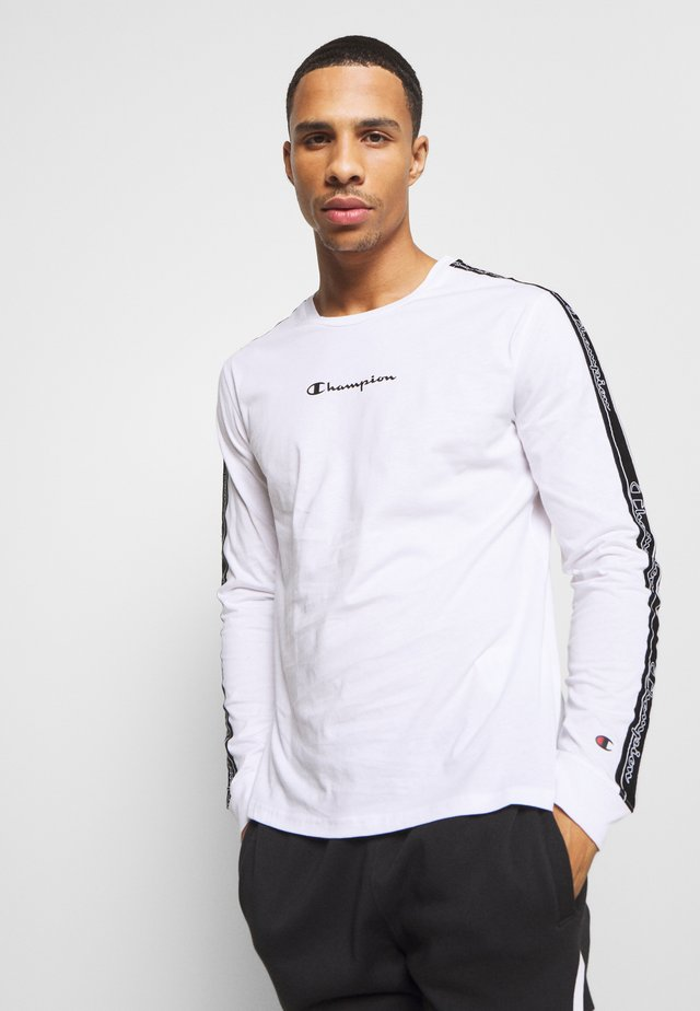 LEGACY TAPE LONG SLEEVE - Long sleeved top - white