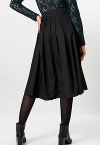 zero - A-line skirt - black - 2