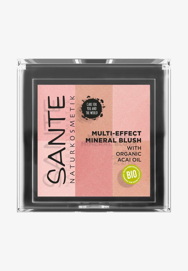 Sante - MULTI-EFFECT MINERAL BLUSH - Face palette - 01 coral