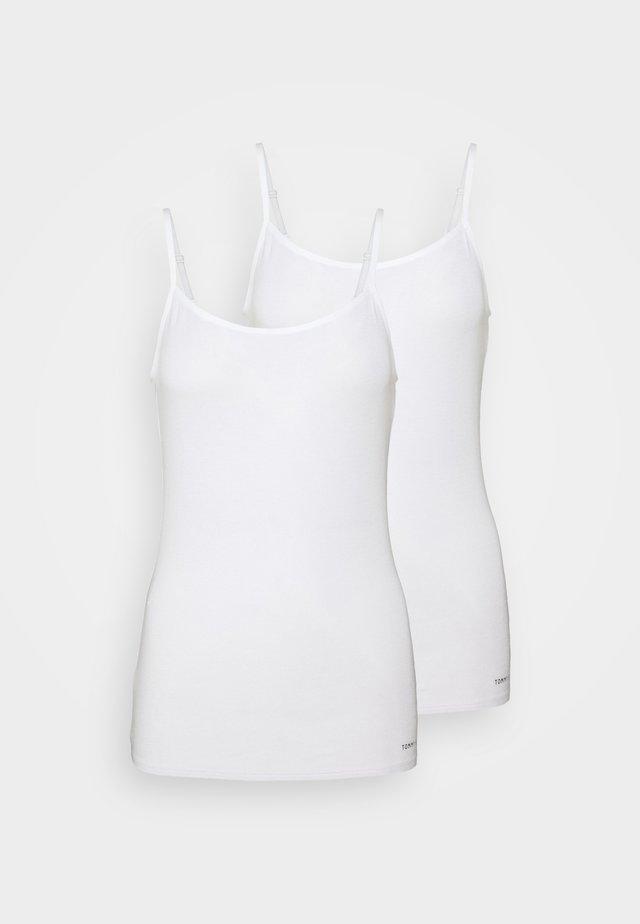 WARM 2 PACK - Pyjamashirt - white