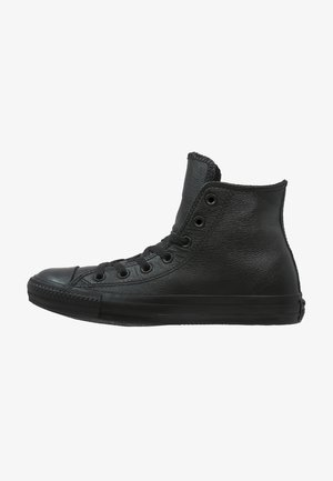 CHUCK TAYLOR ALL STAR - Korkeavartiset tennarit - black