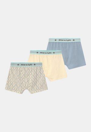 YASH 3 PACK - Pants - white