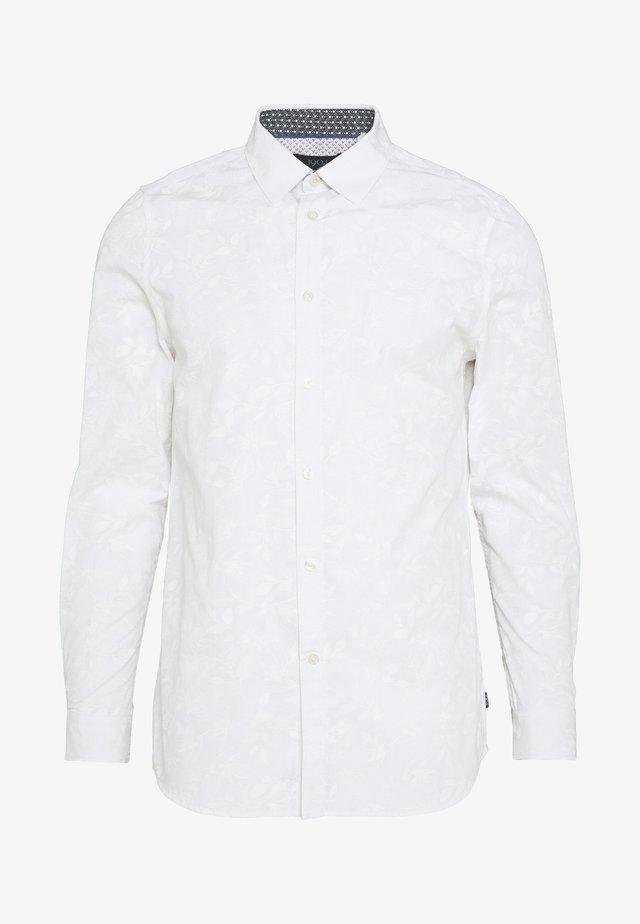 DUSLEY FLORAL PRINT - Shirt - white