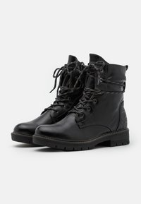Tamaris - BOOTS - Snørestøvletter - black - 2