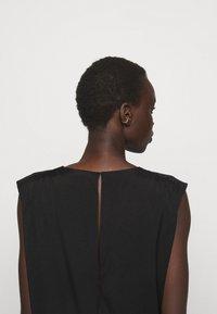 DESIGNERS REMIX - VALERIE SHOULDER DRESS - Day dress - black - 3