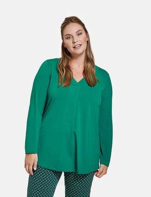 LONGSLEEVE - Blouse - optical green