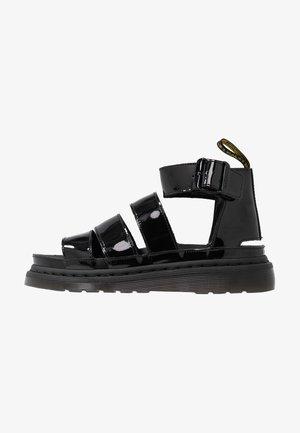 CLARISSA LI - Platform sandals - black