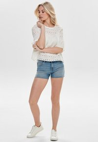 ONLY - ONLIRINA ANGLAISE - Blouse - off-white - 1