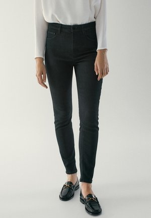 HOHEM BUND - Jeans Skinny Fit - black