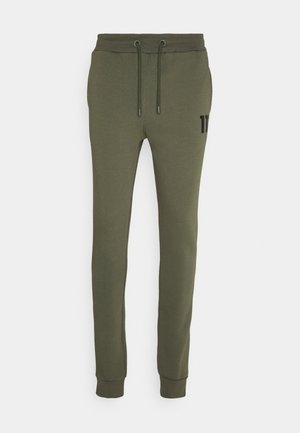 CORE JOGGERS SKINNY FIT - Tracksuit bottoms - khaki