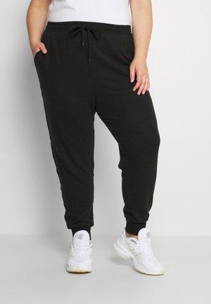 CURVE SUPER SOFT SLIM FIT PANT - Pantalon de survêtement - washed black marle