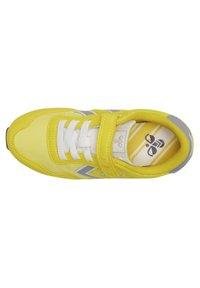 Hummel - REFLEX JR UNISEX - Trainers - yellow - 3