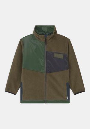 URBAIN - Fleece jacket - dark green