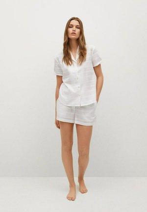 2 PIECE SET - Pijama - blanco roto