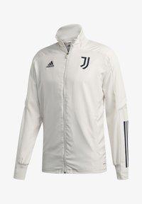 adidas Performance - JUVENTUS SPORTS FOOTBALL TRACKSUIT JACKET - Club wear - orbgry/legink - 0