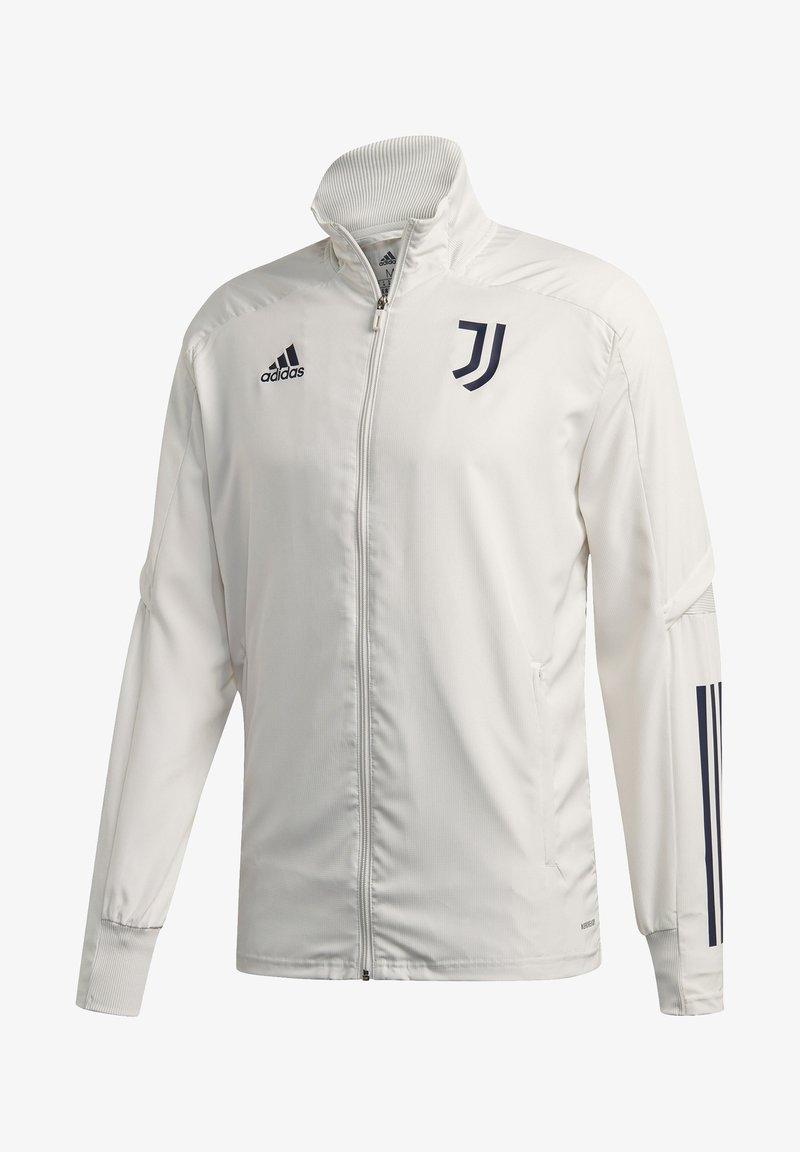 adidas Performance - JUVENTUS SPORTS FOOTBALL TRACKSUIT JACKET - Club wear - orbgry/legink
