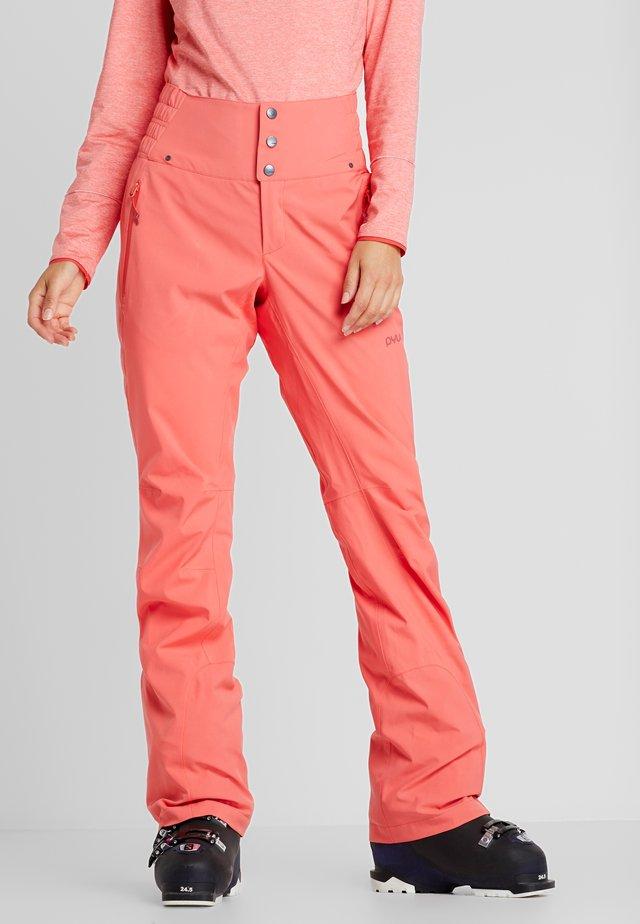 SOOTH - Pantaloni da neve - grapefruit pink