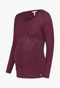 Esprit Maternity - Long sleeved top - garnet red - 0
