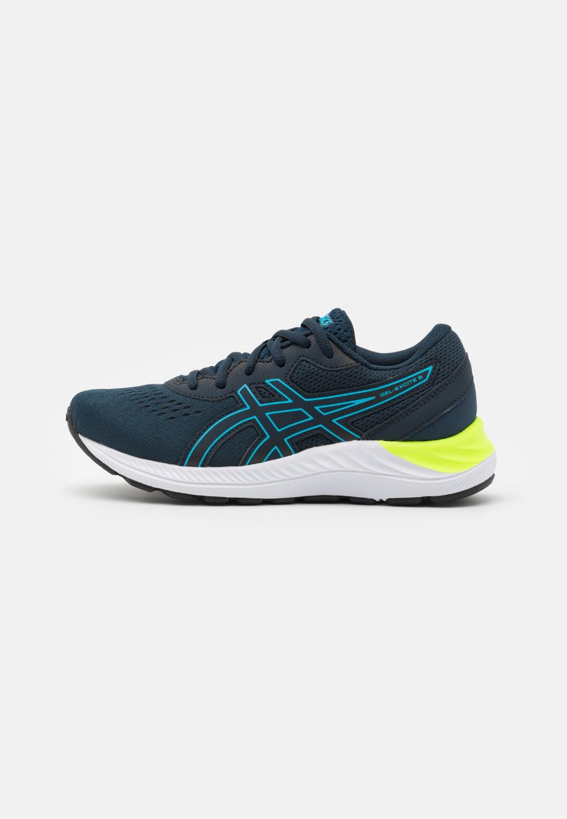 ASICS - GEL-EXCITE 8 UNISEX - Neutral running shoes - french blue/digital aqua