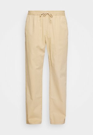 CHASE - Trousers - starfish camel