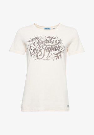 MILITARY NARRATIVE  - T-shirt print - nordic bone
