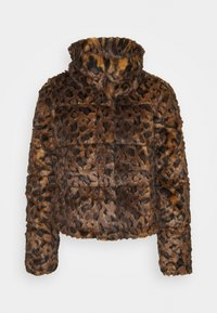 Abercrombie & Fitch - FASHION MINI PUFFER - Winter jacket - leopard - 4