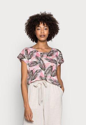 FELICITY - T-shirt z nadrukiem - pink combi