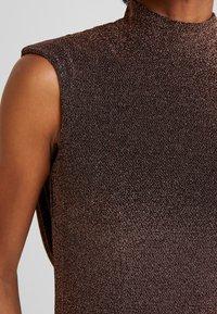 Jarlo - HART - Společenské šaty - bronze - 6