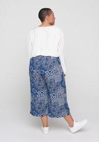 Zizzi - Trousers - blue - 1