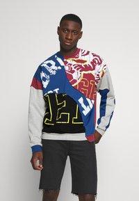 Jaded London - COLLEGIATE CUT SEW CREW NECK  - Sweatshirt - grey - 0