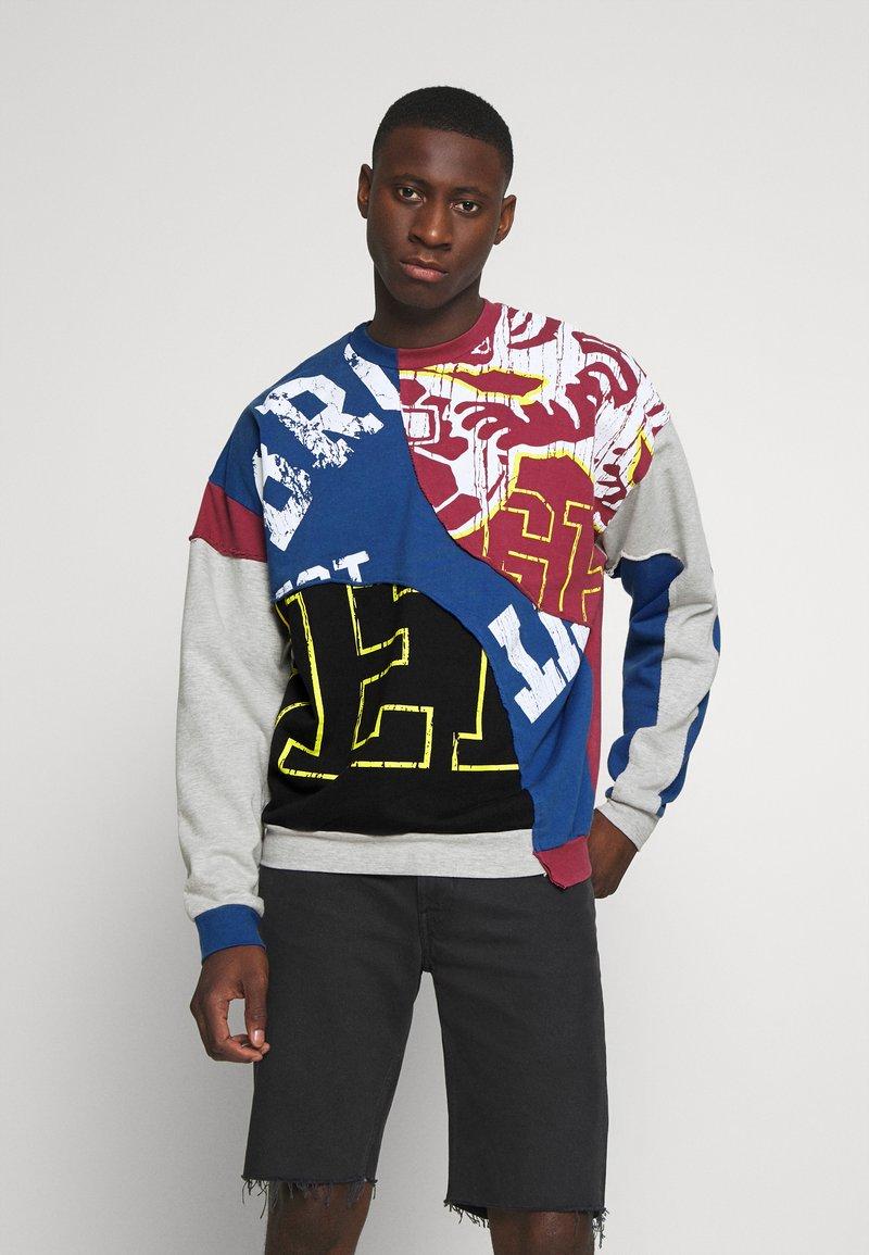 Jaded London - COLLEGIATE CUT SEW CREW NECK  - Sweatshirt - grey