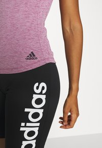 adidas Performance - TEE - Basic T-shirt - purple - 4