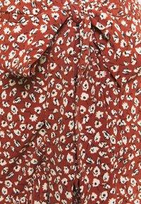 ONLY - ONLOLIVIA WRAP SKIRT - Wrap skirt - henna - 2