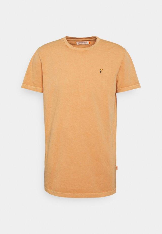 REGULAR  - Jednoduché triko - orange